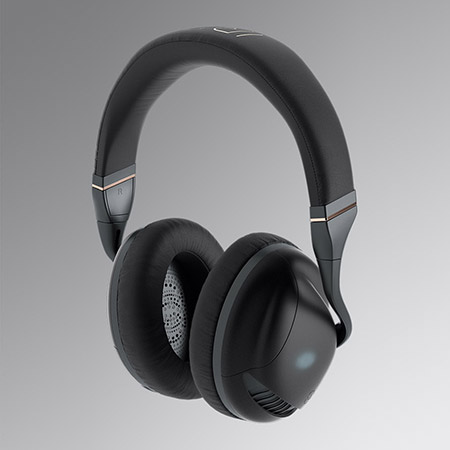 IRIS Flow Headphones Black 1