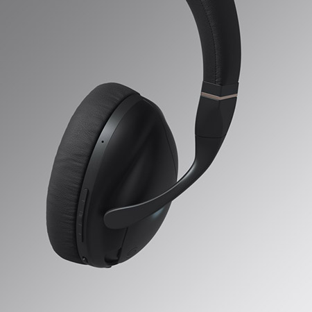 IRIS Flow Headphones Black 2