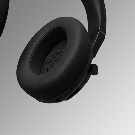 IRIS Flow Headphones Black 3
